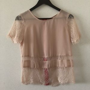 Pinkish Nude Blouse